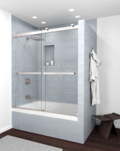 Equalis Series Tub Shower Door