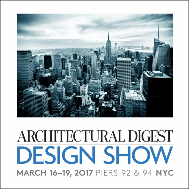 Architectural digest design show march 2017 for Architectural digest show
