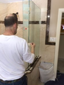 Neo Angle shower enclosure installation process
