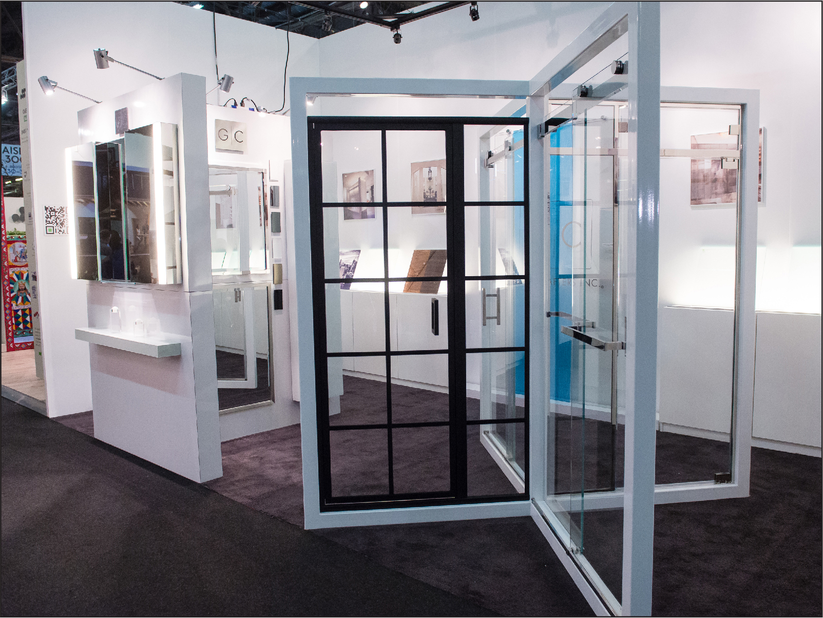 Please Visit GlassCraftersu0027 Booth #482 Where We Will Be Displaying A  Variety Of Designs From Our Custom Shower Door Series And Luxury Medicine  Cabinet + ...