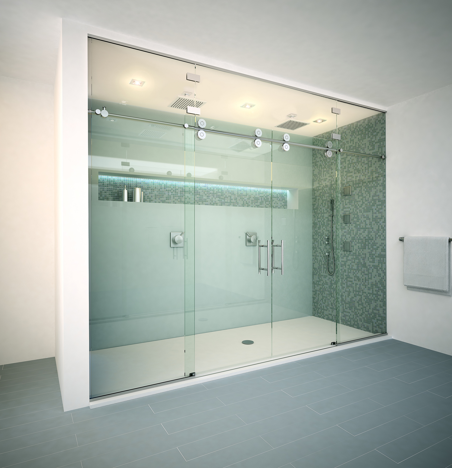 frameless vs semi frameless vs framed shower enclosures. Black Bedroom Furniture Sets. Home Design Ideas