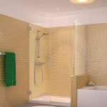 Royal Series Shower Enclosure by Glasscrafters