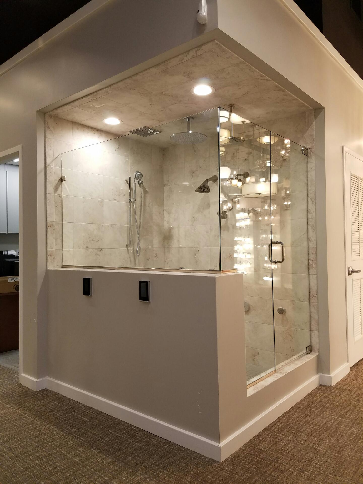 Majestic Series Custom Shower Enclosures Installation